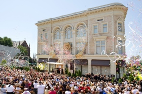 On June 30, 2012, more than a thousand Scientologists and guests celebrated the grand opening of their newly transformed home in Buffalo. The fully restored, landmark building in the Allentown Historic District stands at the crossing of Main and Virginia Streets.
