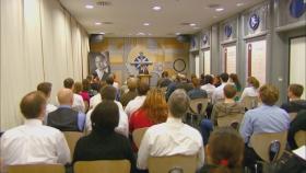 Die Kapelle in Berlin ist der Ort für Sonntagsandachten, Hochzeiten und Namensgebungszeremonien.